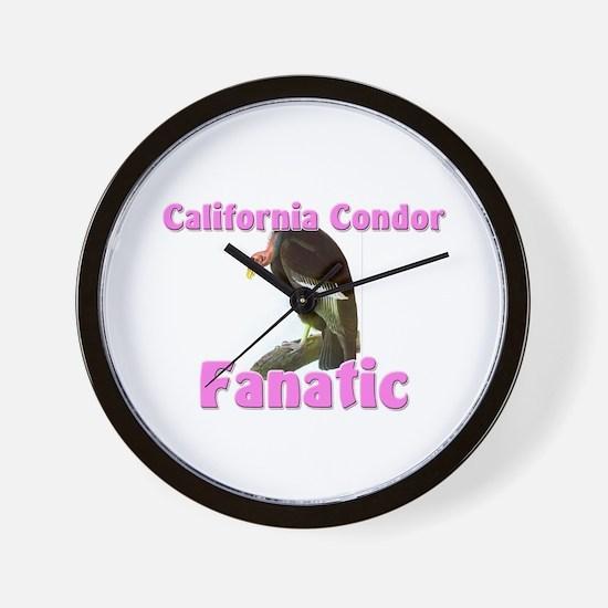 California Condor Fanatic Wall Clock