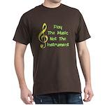 Play The Music Dark T-Shirt