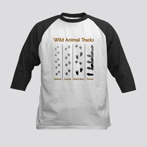 Wild Animal Tracks Baseball Jersey