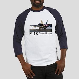 F-18 Super Hornet Baseball Jersey