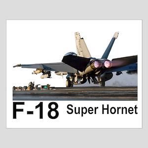 F-18 Super Hornet Small Poster