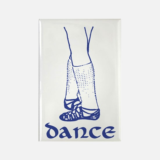 Classic Ghillies Graphic Rectangle Magnet
