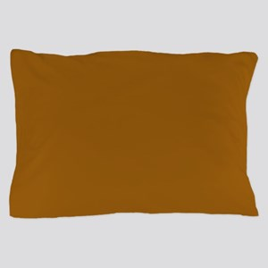 Golden Brown Pillow Case