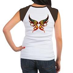 Butterfly / Wings Women's Cap Sleeve T-Shirt