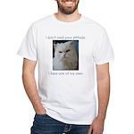 Monster Attitude White T-Shirt