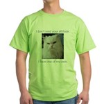 Monster Attitude Green T-Shirt