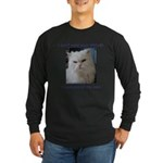 Monster Attitude Long Sleeve Dark T-Shirt