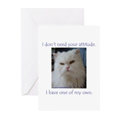 Monster Attitude Greeting Cards (Pk of 20)