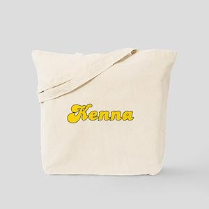Retro Kenna (Gold) Tote Bag