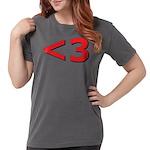 Less than 3 Womens Comfort Colors Shirt