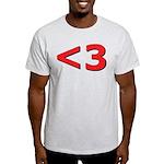Less than 3 Light T-Shirt