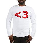 Less than 3 Long Sleeve T-Shirt