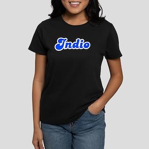 Retro Indio (Blue) Women's Dark T-Shirt
