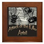 Killer Ants Framed Tile