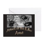 Killer Ants Greeting Cards (Pk of 10)