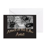 Killer Ants Greeting Cards (Pk of 20)