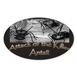Killer Ants Oval Sticker