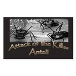Killer Ants Rectangle Sticker 50 pk)