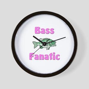 Bass Fanatic Wall Clock