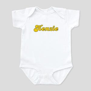 Retro Kenzie (Gold) Infant Bodysuit