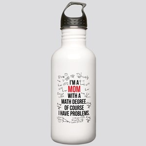Mom Math Degree Stainless Water Bottle 1.0L