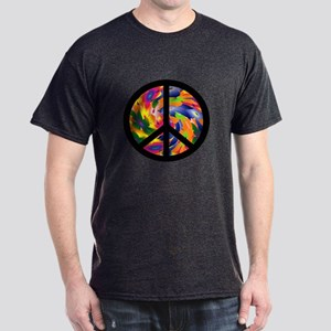 Peace Sign Dark T-Shirt