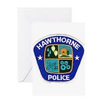 Hawthorne Police Greeting Card