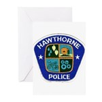 Hawthorne Police Greeting Cards (Pk of 10)
