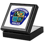 Hawthorne Police Keepsake Box