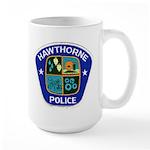 Hawthorne Police Large Mug
