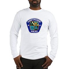 Hawthorne Police Long Sleeve T-Shirt