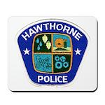 Hawthorne Police Mousepad