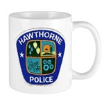 Hawthorne Police Mug