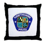 Hawthorne Police Throw Pillow