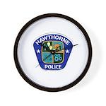 Hawthorne Police Wall Clock