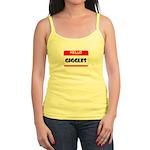 HELLO, MY NAME IS GIGGLES Jr. Spaghetti Tank