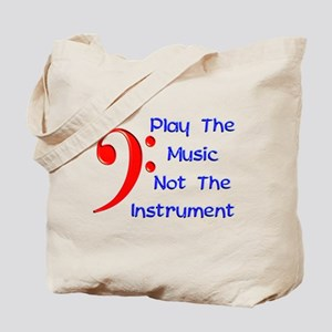 Play The Music Tote Bag