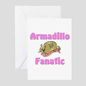 Armadillo Fanatic Greeting Cards (Pk of 10)