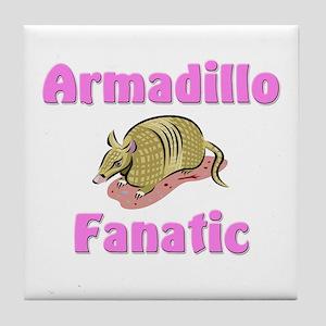 Armadillo Fanatic Tile Coaster