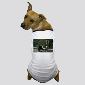 Cows in the Road Dog T-Shirt