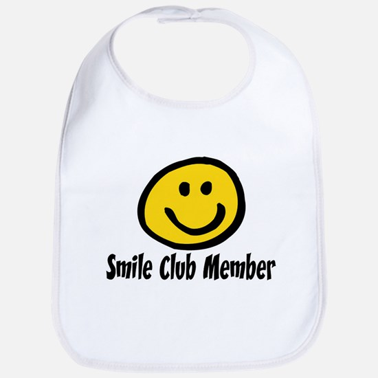 SMILE CLUB MEMBER Bib