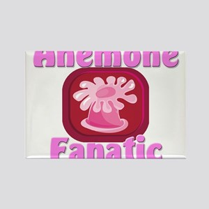 Anemone Fanatic Rectangle Magnet