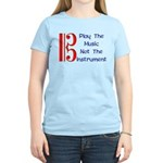 Play the Music Alto Clef Women's Light T-Shirt