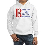 Play the Music Alto Clef Hooded Sweatshirt
