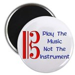 Play the Music Alto Clef Magnet
