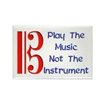 Play the Music Alto Clef Rectangle Magnet (100 pac