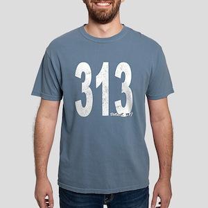Distressed Detroit 313 T-Shirt