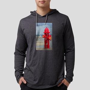 Doggie Beach Hydrant Long Sleeve T-Shirt