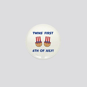 Twins First 4th Mini Button