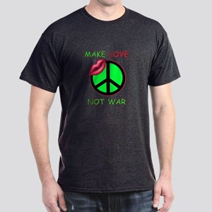 Make Love Not War Dark T-Shirt